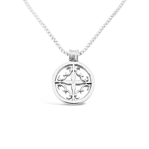 Cali Amulet Single Diamond - Small