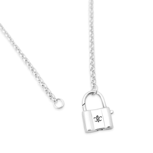 Cali Padlock Necklace