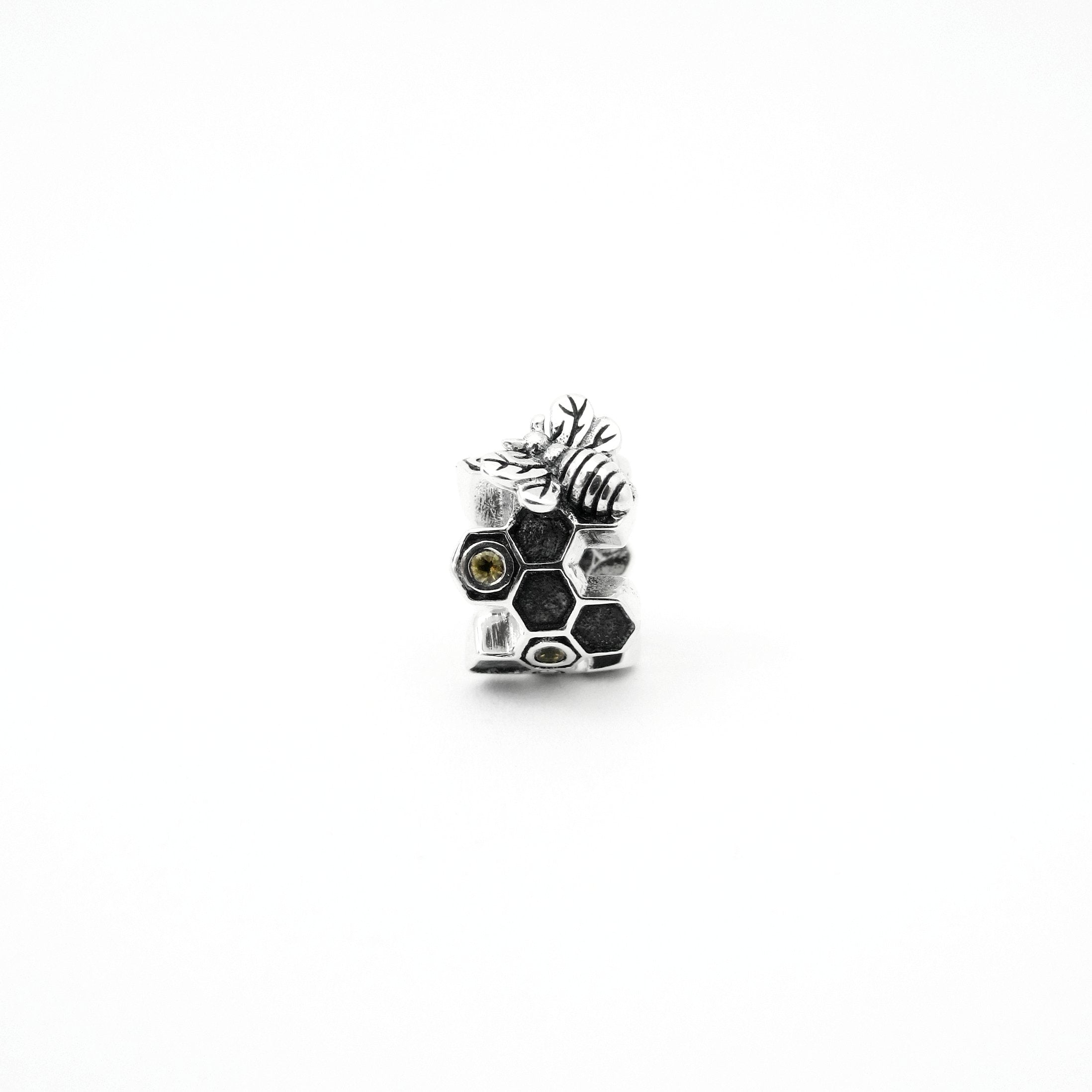 Honeycomb & Bee Couture Charm