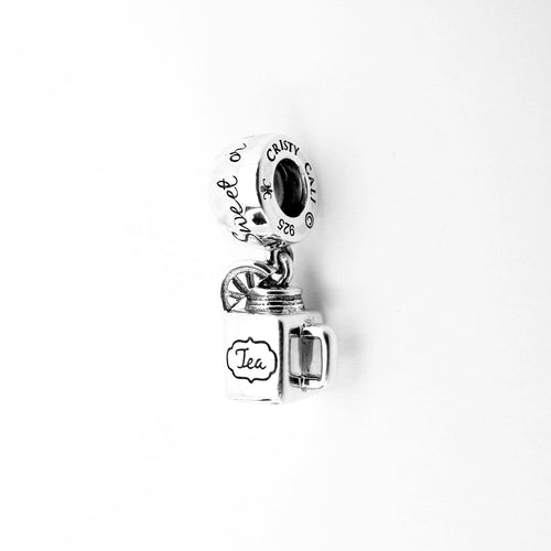 Sweet or Unsweet? Iced Tea Couture Charm