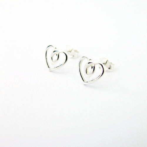 Infinite Heart Earrings