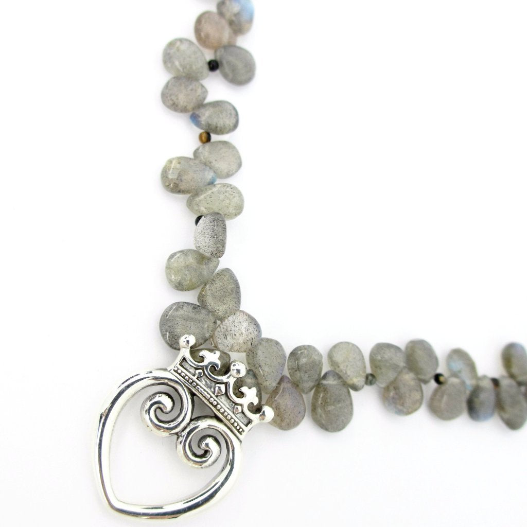 Labradorite Queen of Hearts ONE-OF-A-KIND