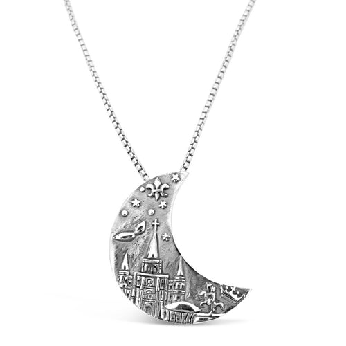 Crescent City Pendant Large