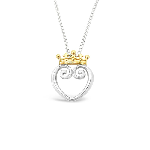 Queen of Hearts Mixed 18K - Medium
