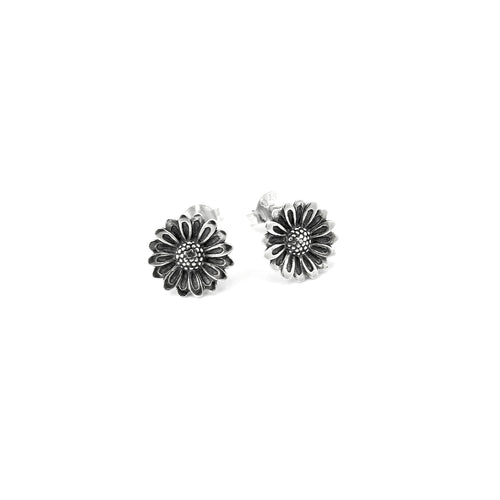Mini Sunflower Post Earrings