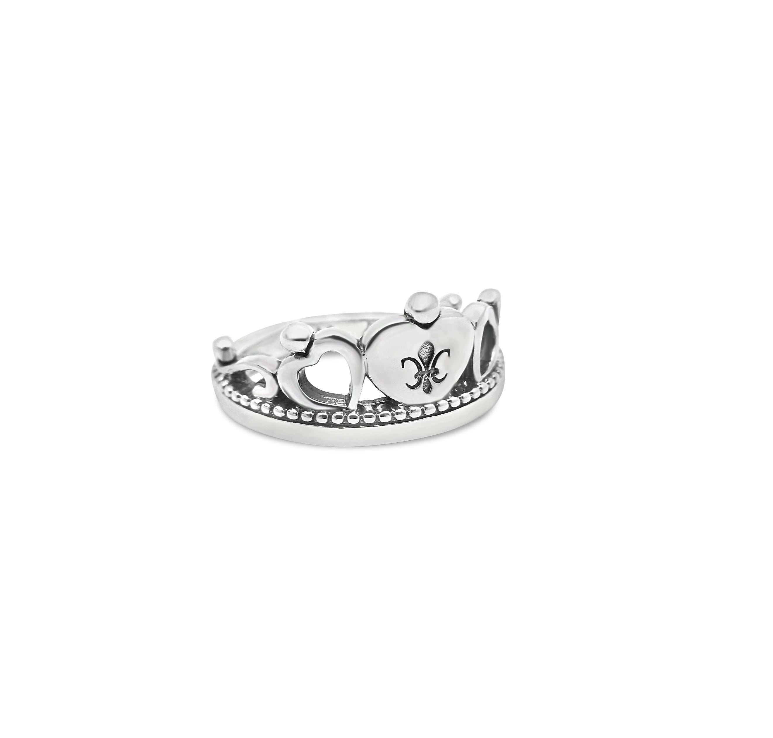 Queen of Hearts Crown Ring