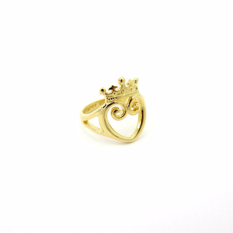 Present Bow Ring Gold