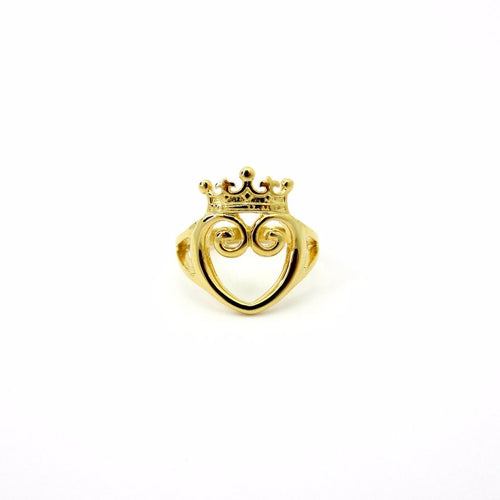 Queen of Hearts Ring Gold Limited Edition