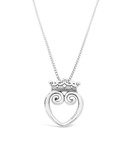 Queen of Hearts Pendant - Large