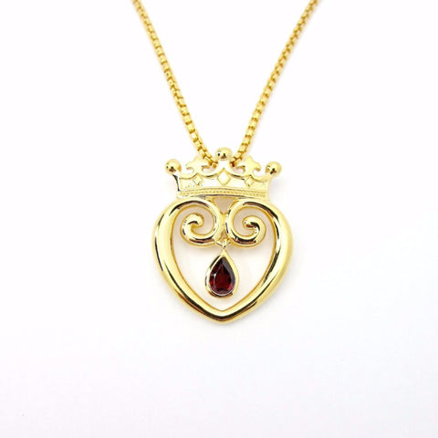 Queen of Hearts with Diamonds - Small