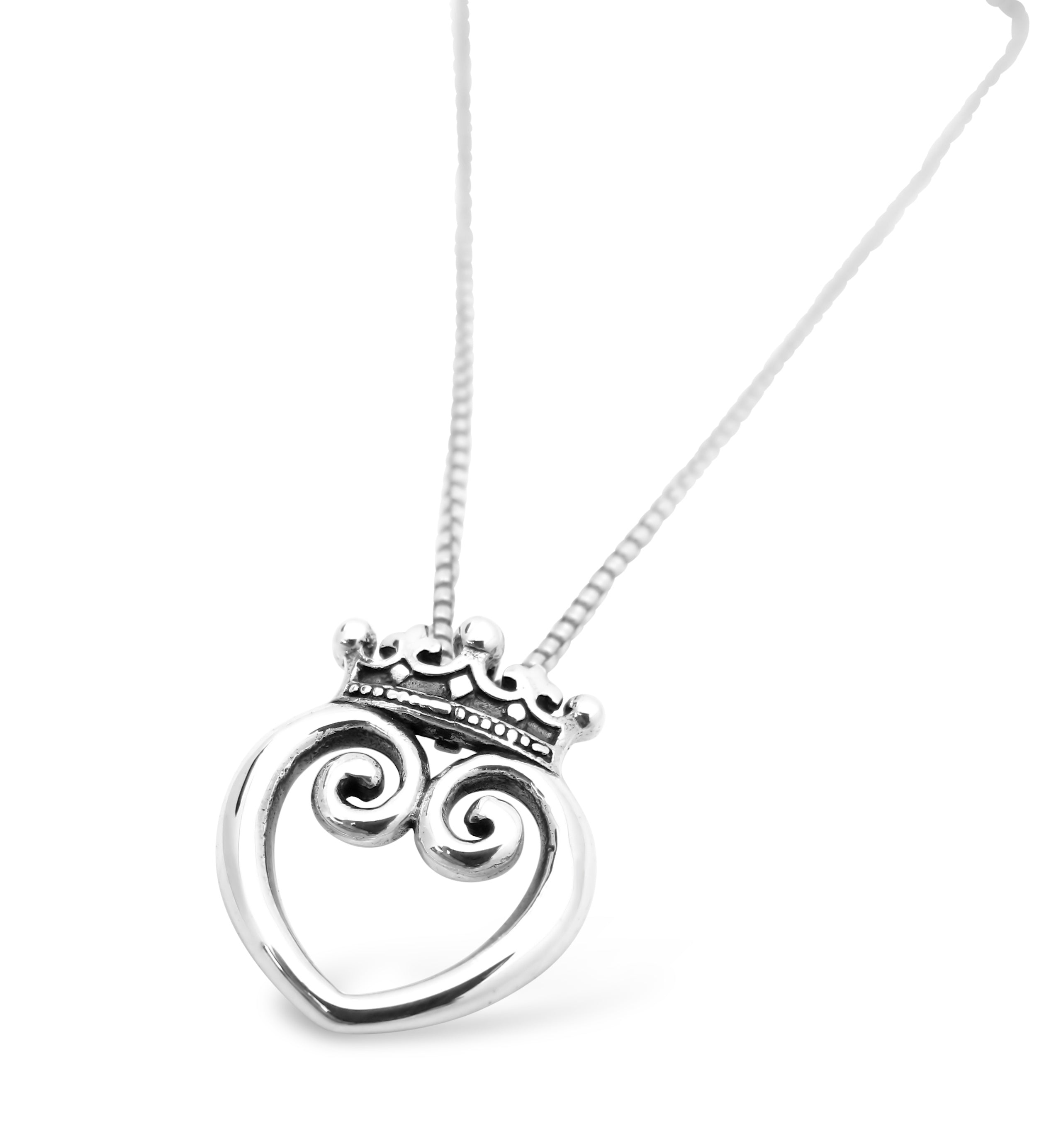 Queen of Hearts Pendant - Small