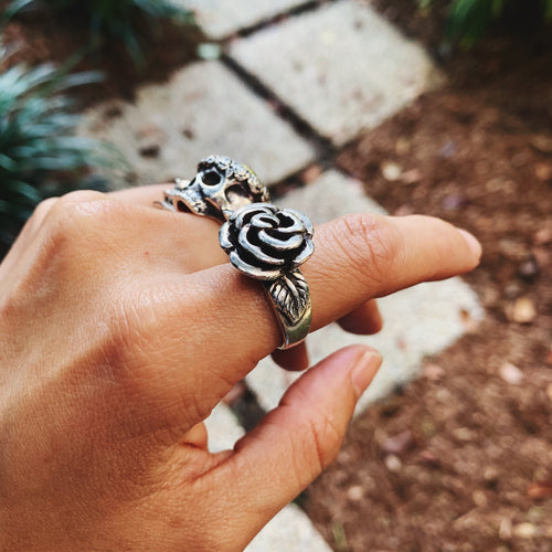 Botanical Garden Rose Ring