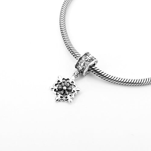 Snowflake Couture Charm