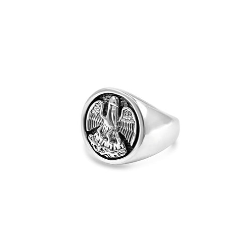 Mens' State Pelican Ring