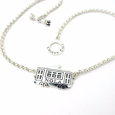 St. Charles Ave Streetcar Necklace
