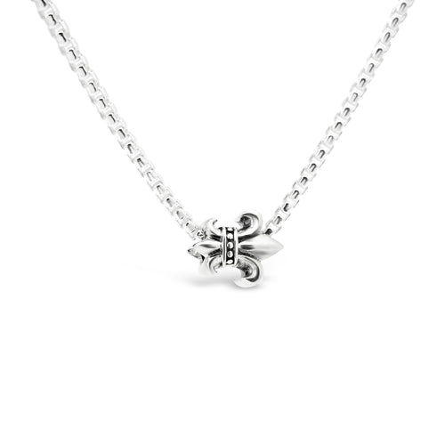 Strength & Courage Fleur de Lis Vertical Edition Couture Charm