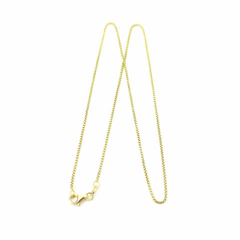 Gold Overlay Rounded Box Chain