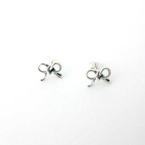 Tiny Bow Earrings