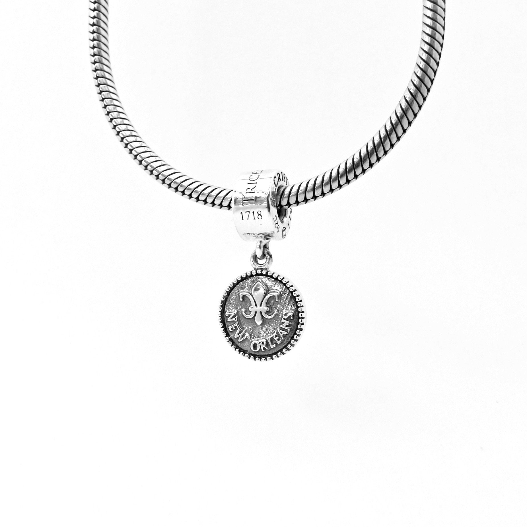 New Orleans Tricentennial Limited Collector's Edition Dangle Couture Charm - JULY PREORDER