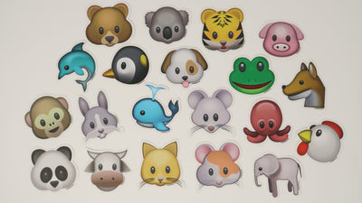 Emoji Sticker Animal Pack
