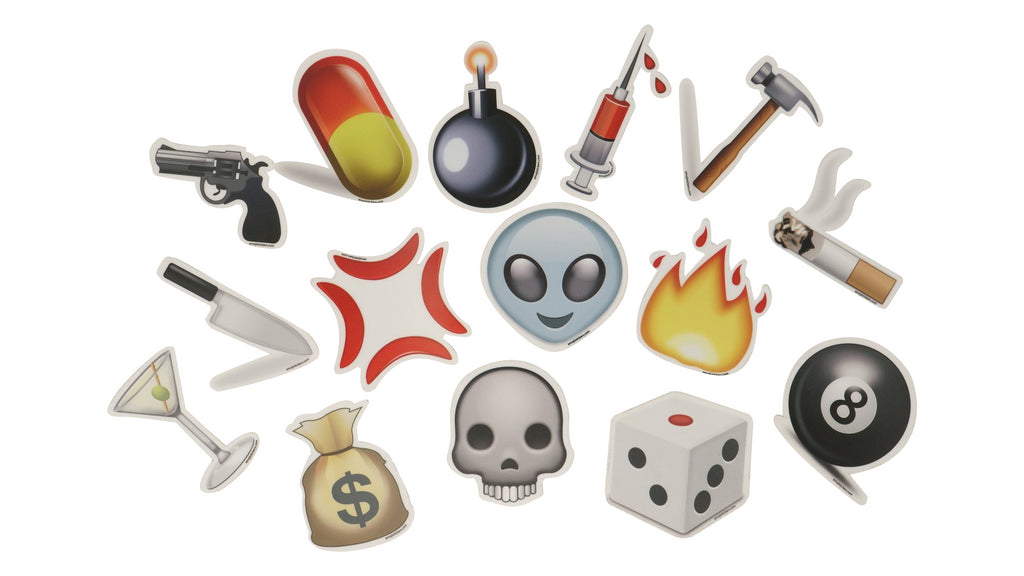 Emoji Stickers Bad Ideas Pack