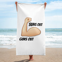 Guns Out Towel