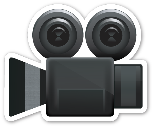 Image result for movie camera emoji
