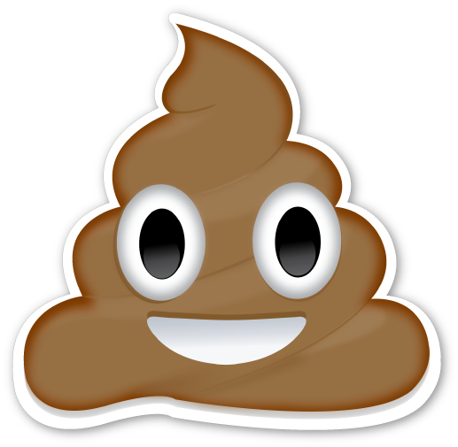 Pile Of Poo Sticker