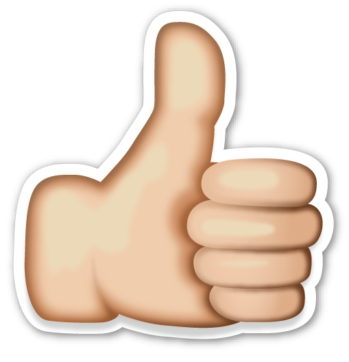 thumbs up emoji text selo l ink co