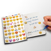 Emoji Sticker Pack 6 sheets of the MOST POPULAR Emojis