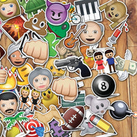 Emoji Stickers Wanderlust Pack