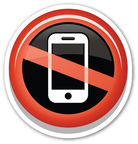 No Mobile Phones