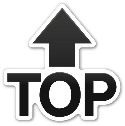 Top With Upwards Arrow Above