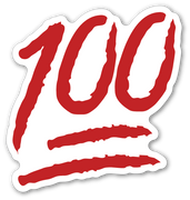 Hundred Points Symbol