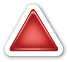 Up Pointing Red Triangle