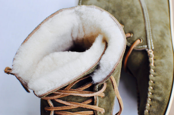 HER: Loden Grove Boot with Sheepskin Lining