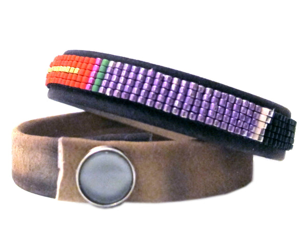 SPRING FLING LEATHER WRAP