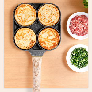 4-CUP EGG/BURGER FRYING PAN