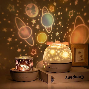 360 Rotation Starry Sky Projector