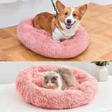 Faux Fur Comfort Pet Bed