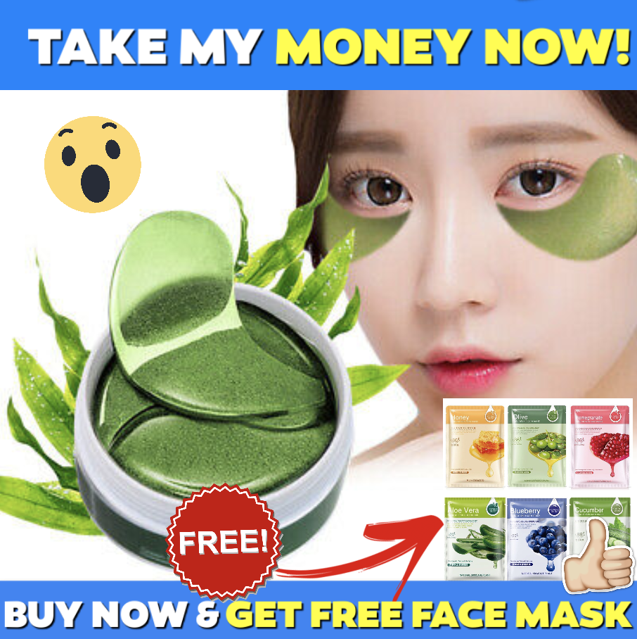 60pcs ANTI WRINKLE COLLAGEN EYE PATCH