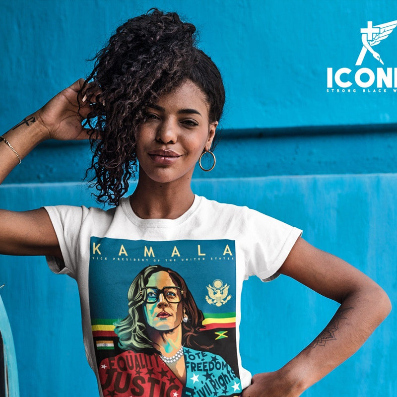 Our New Iconic Kamala Tee's...