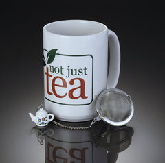 Tea Lover's Gift Set with Tea Infuser - Assorted Varieties (Tea Included)