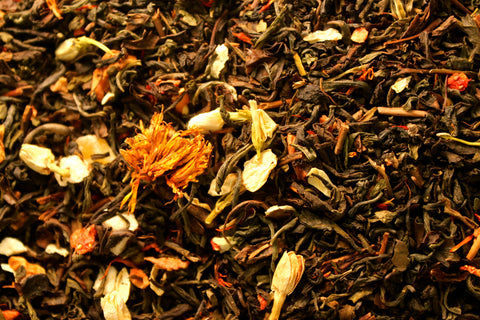 "Jasmine Garden - Oolong - ""Drinking Tea in a Fragrant Garden"""
