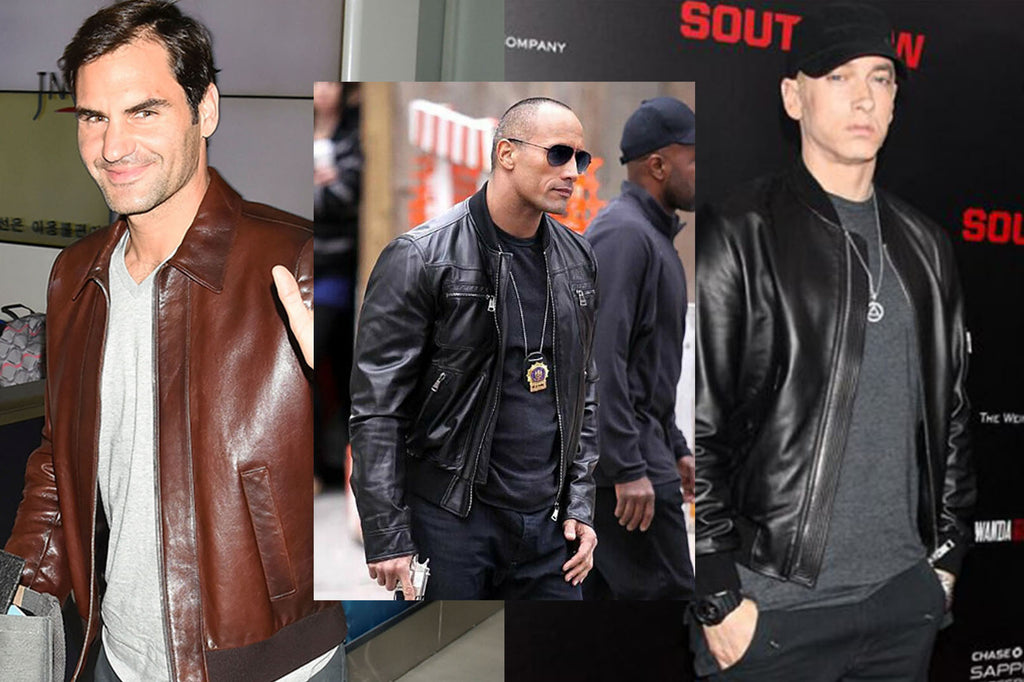How to rock the leather jacket fashion statement!