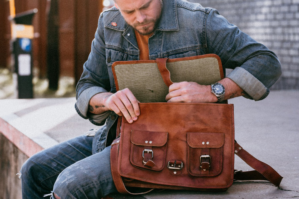 Top 9 Leather Messenger Bags For Men