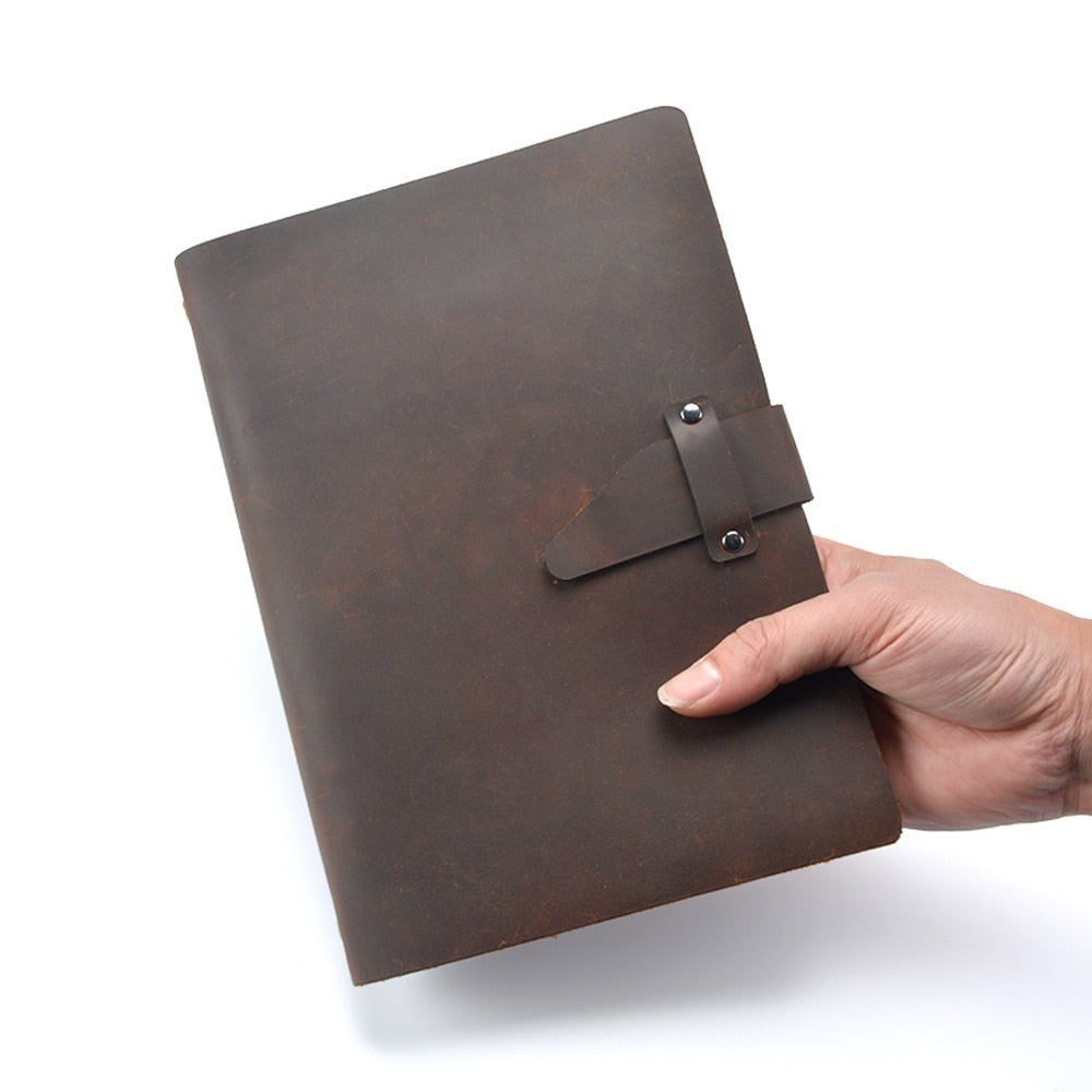 High-end Genuine Leather Notebook - Lexther