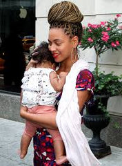 Beyonce and Blue Ivy (Both First borns!)