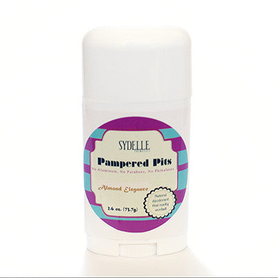 Pampered Pits Solid Deodorant (Women's Fragrances)