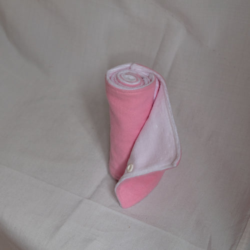 Pink Toilet Cloth Towel